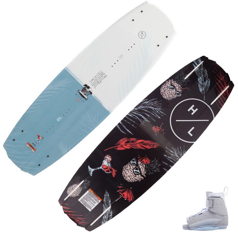 Hyperlite Maiden Wakeboard With Viva Bindings image number 1