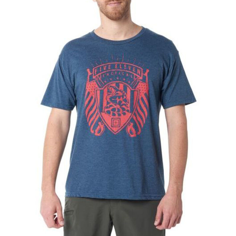 5.11 Tactical Men's Short-Sleeve Graphic Tee image number 5