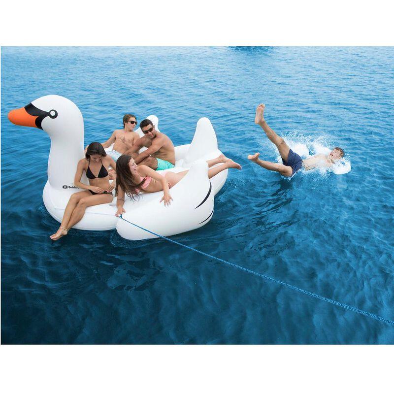 Swimline Biggest Giant Swan Inflatable Float image number 5