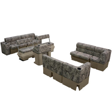 Toonmate Scout Series Premium Pontoon Furniture Traditional Package