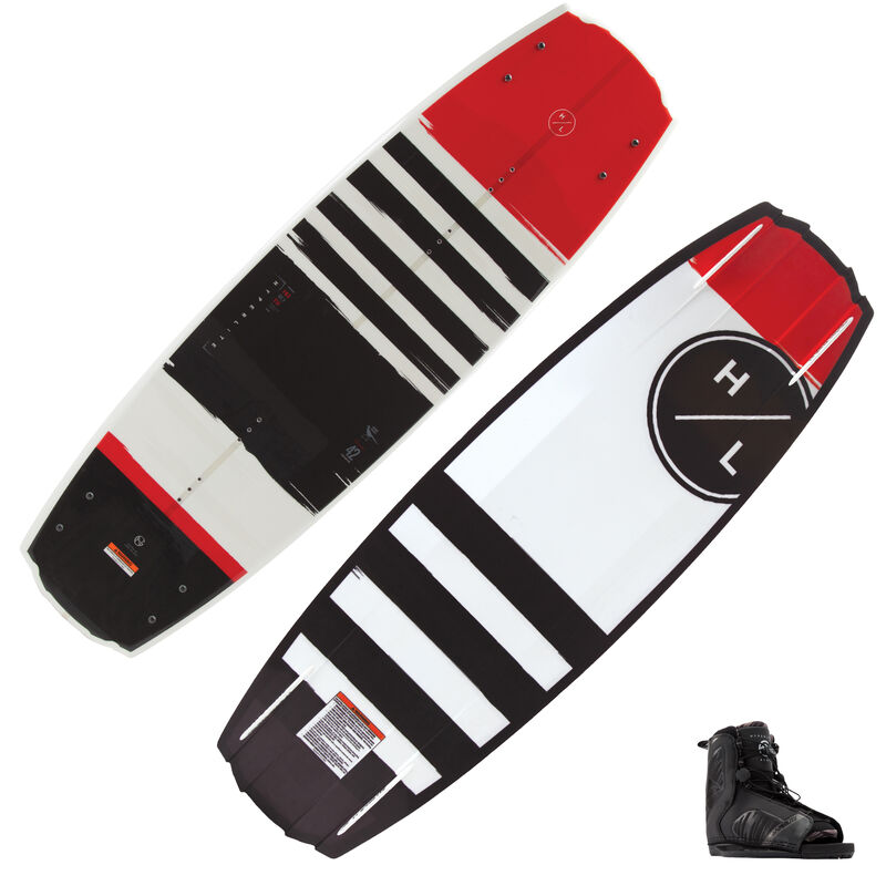 Hyperlite Franchise Wakeboard With Remix Bindings image number 1