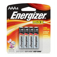 Energizer MAX AAA Batteries, 4-Pack