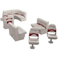 Toonmate Premium Pontoon Furniture Reversible Rear Entry Fishing Package