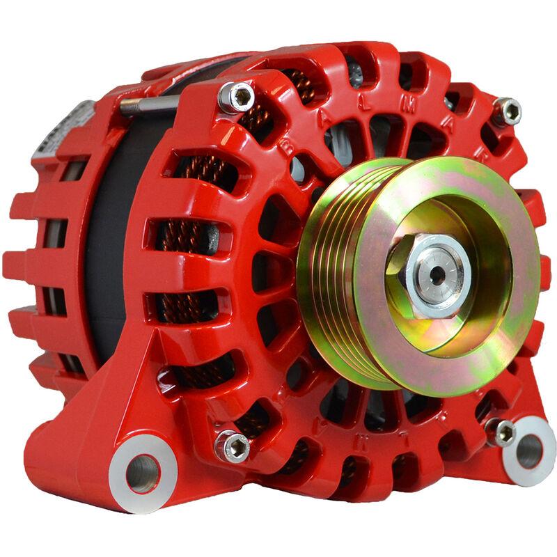 Balmar Alternator Vortec Internal Reg K6 Serpentine Pulley - 170A - 12V image number 1