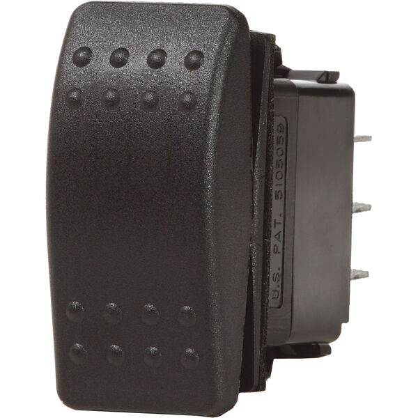 Blue Sea Systems Contura II Switch, DPDT (ON)-OFF-(ON)