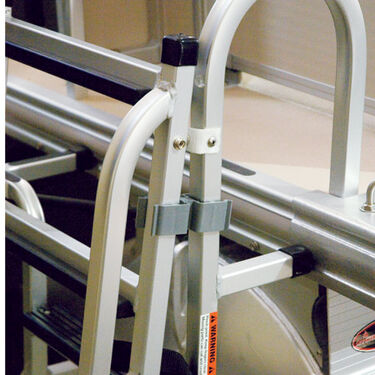 "Pontoon Square Ladder Clip Set for 1-1/8"" Rail"