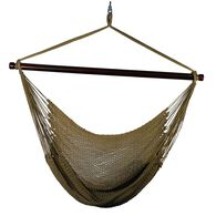 Hanging Caribbean Rope Chair, Brown
