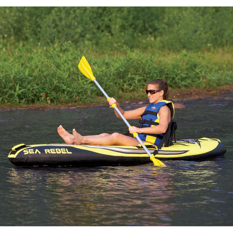 RAVE Sea Rebel Inflatable Kayak image number 3