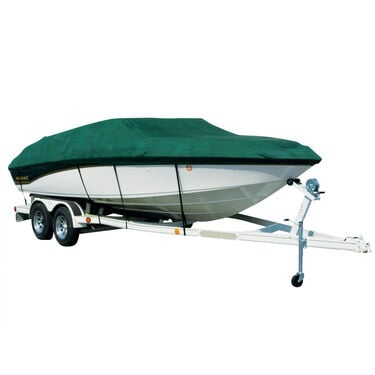 Sharkskin Boat Cover For Galaxie Of California 2000 Starion W/Skiff Shield