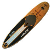 California Board Company 11' Nautic Inflatable Stand-Up Paddleboard, Wood Graphics