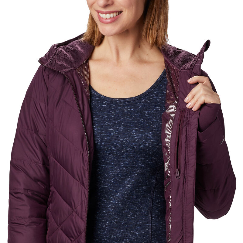 Columbia Women's Heavenly Long Hooded Jacket image number 3
