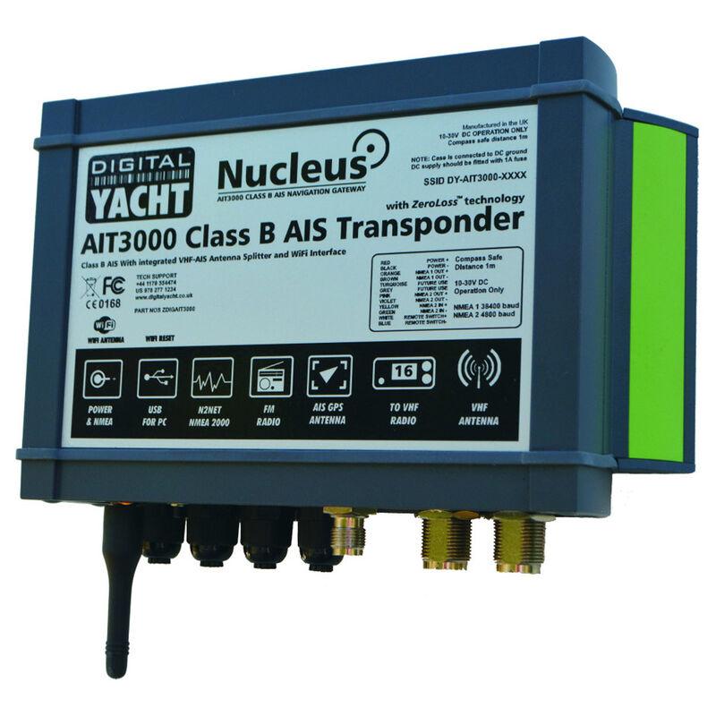 Digital Yacht AIT3000 Nucleus Class B AIS Transponder image number 1