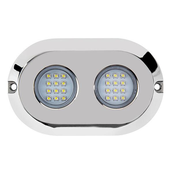 Marine Sport HydroBLAST 2-POD Underwater 120W LED Lighting System, Blue