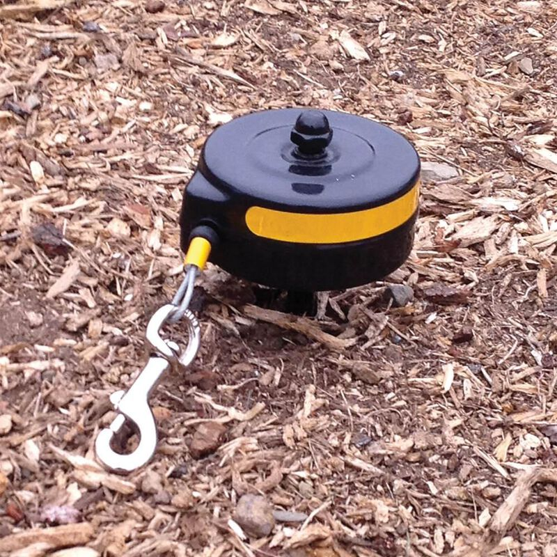Retractable Cable Tie Out Stake - Small image number 2