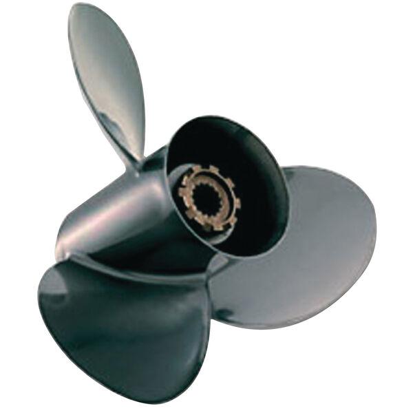 Quicksilver Black Diamond 3-Blade Prop w/Hub / Aluminum 10.375 dia x 13 pitch RH