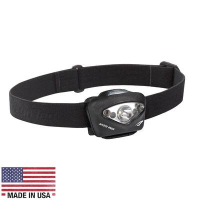 Princeton Tec VIZZ Industrial LED Headlamp, Black