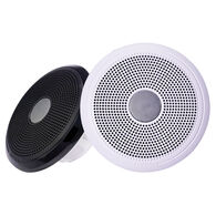 "FUSION XS-F65CWB XS Series 6.5"" 200 Watt Classic Marine Speakers - White & Black Grill Options"