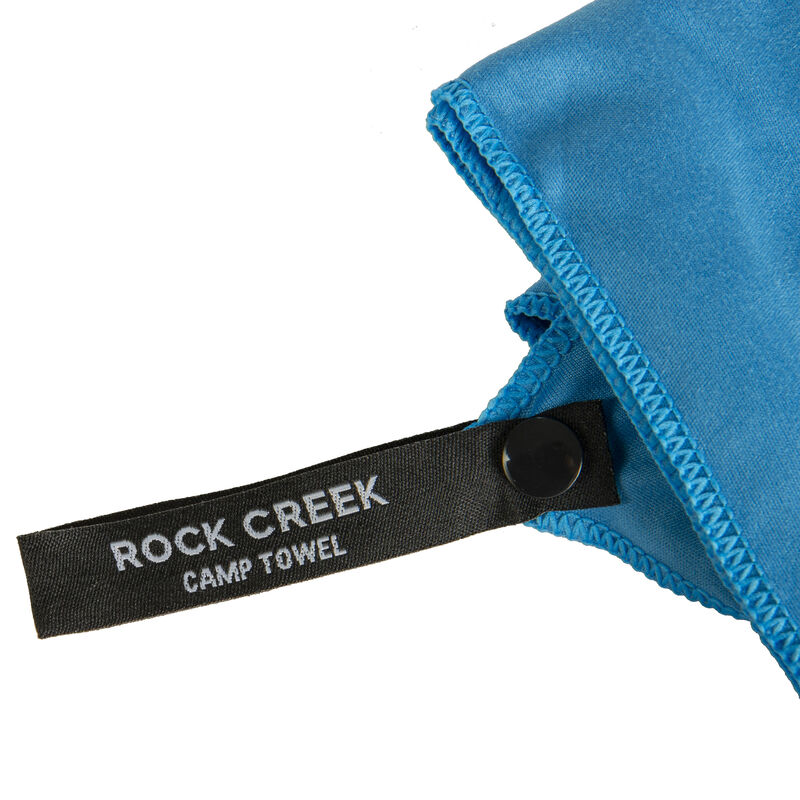Rock Creek Blue Microfiber Camp Towel, Large image number 5