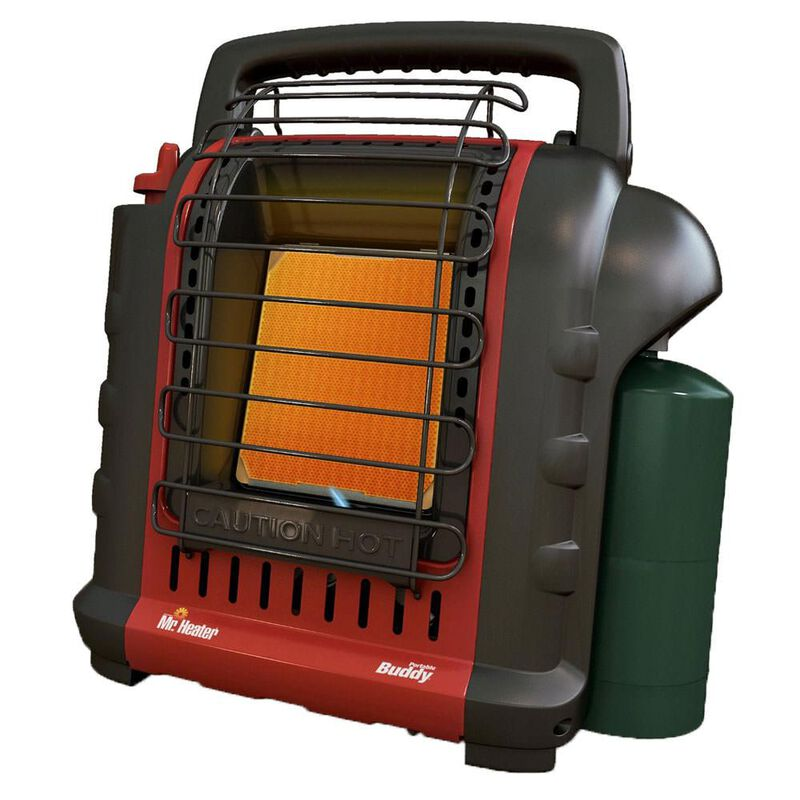 Mr. Heater Portable Buddy Heater - Massachusetts and Canada Use image number 1