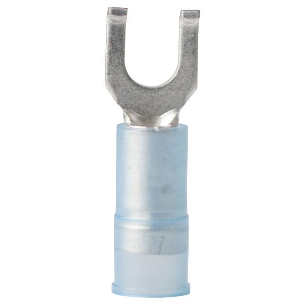 Ancor Nylon Flanged Spade Terminals, 16-14 AWG, #8 Screw, 25-Pk.