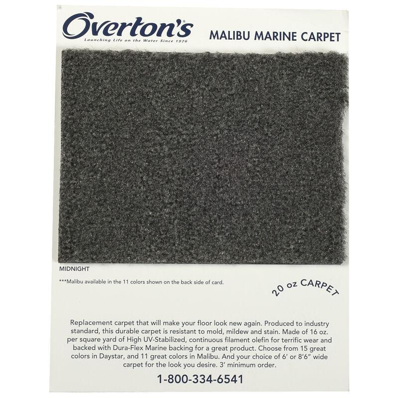 Overton's Daystar/Malibu Carpet Sample Swatch Card image number 2