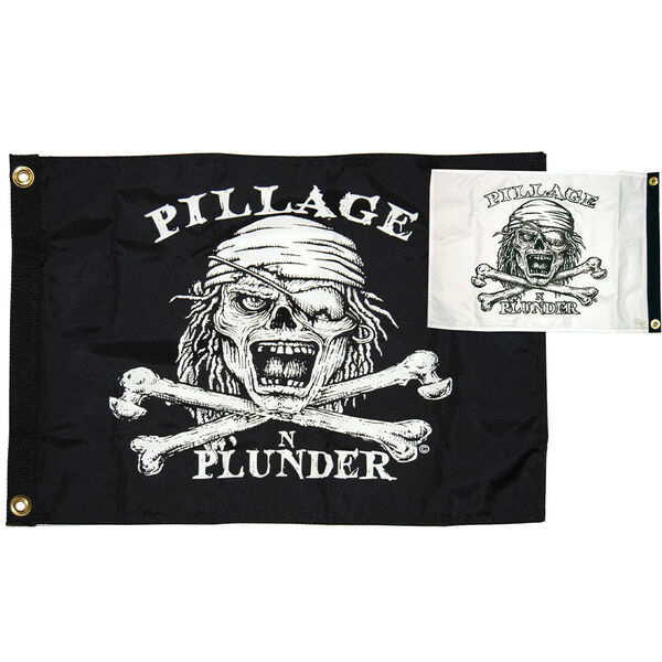 "Pilage and Plunder, 12"" x 18"""
