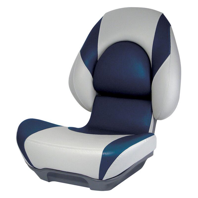 Attwood SAS Centric II Folding Boat Seat, Gray Base image number 2