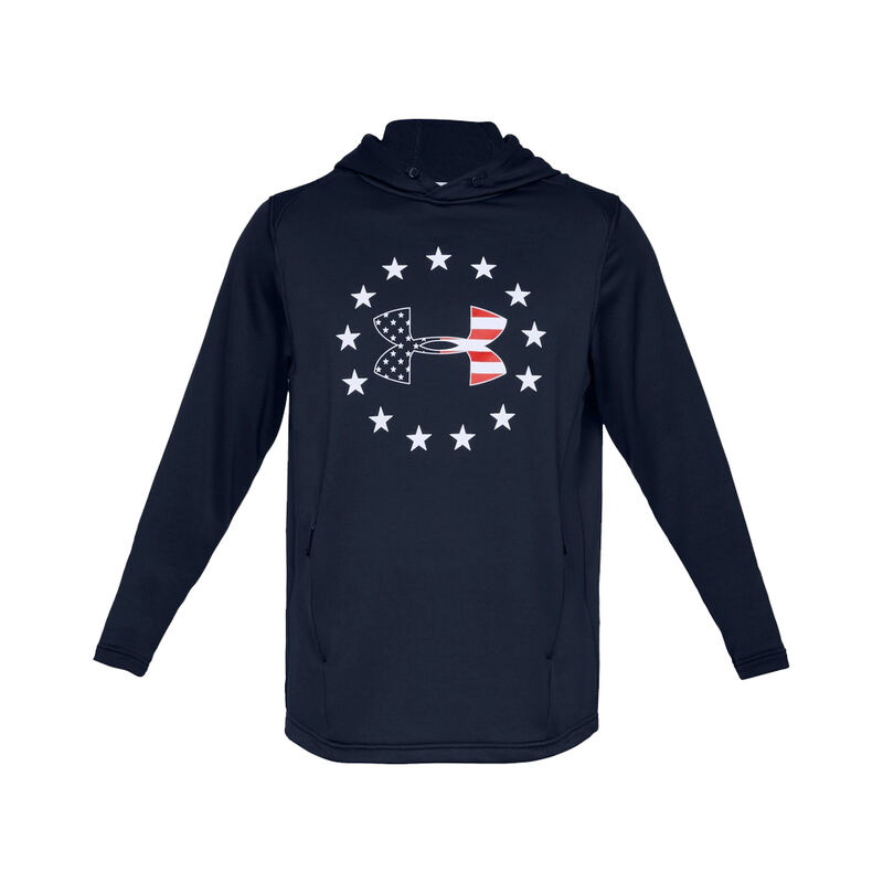 Under Armour Men's Freedom Tech Terry Hoodie image number 1