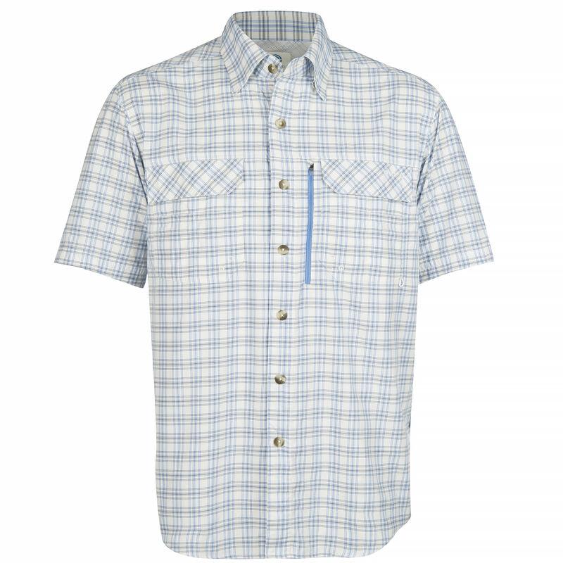 Nepallo Men's Trophy Quick-Dry Plaid Short-Sleeve Shirt image number 10