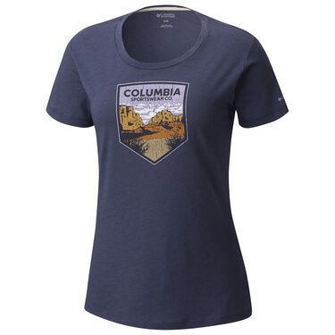 Columbia Women's Columbia Badge Short-Sleeve Tee