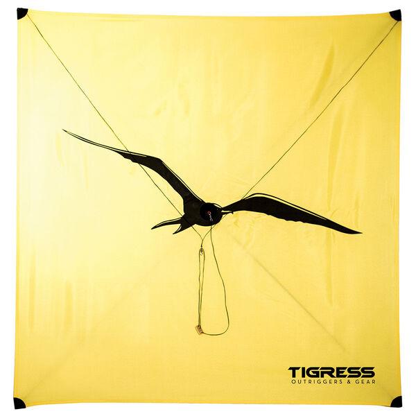 Tigress Specialty Lite Wind Kite, Yellow