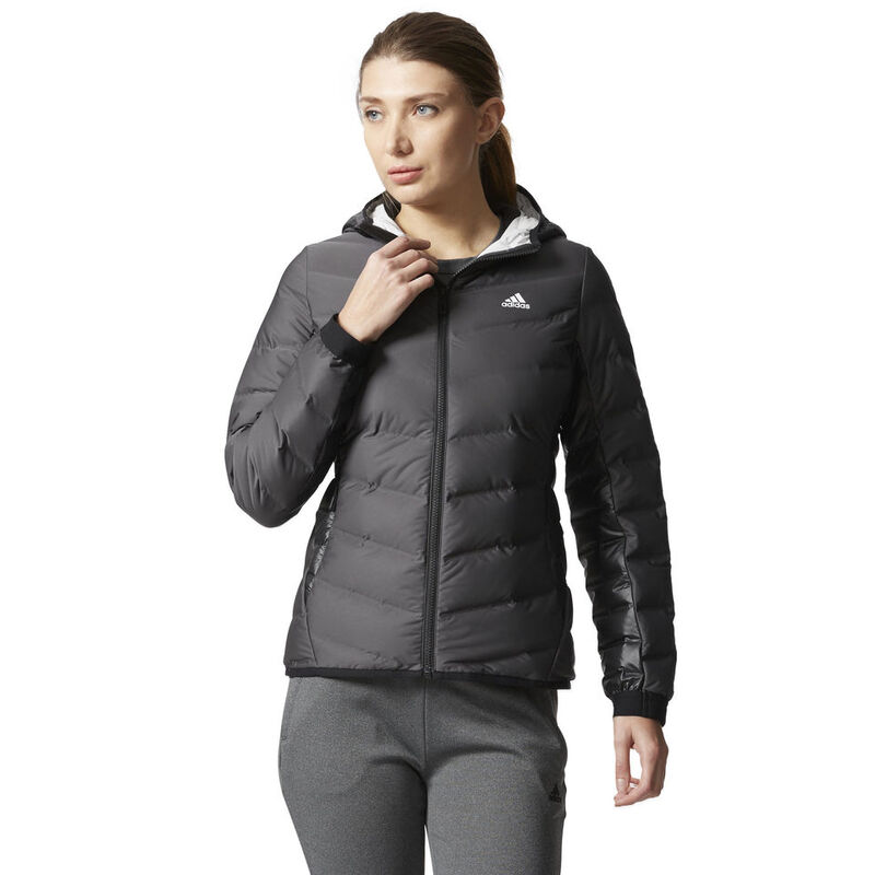 Adidas Women's Nuvic Hooded Down Jacket image number 3