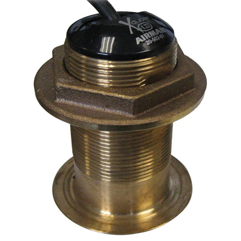SI-TEX Tilted-Element Bronze Thru-Hull Transducer for CVS-126 & CVS-128 image number 1