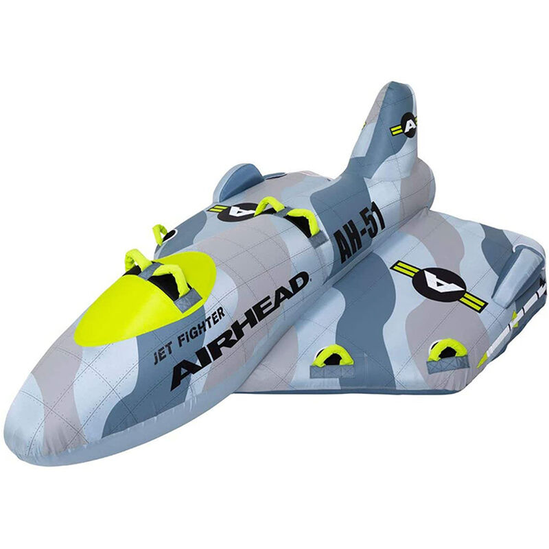 Airhead Jet Fighter 4-Person Towable Tube image number 1
