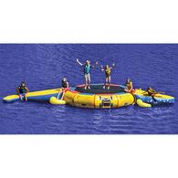 Island Hopper 13' Bounce 'N Splash Water Bouncer & Gator Monster Water Park