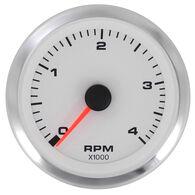 """Sierra White Premier 3"""" Tachometer, Diesel Magnetic Pickup"""