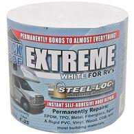 "Quick Roof Extreme Repair Tape, Bright White, 4"" x 25'"
