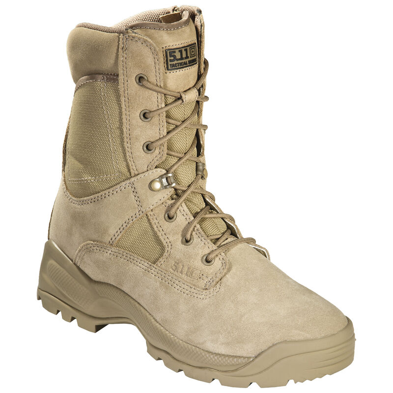 """5.11 Tactical Men's ATAC 8"""" Coyote Boot image number 3"""