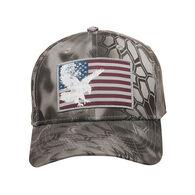 Outdoor Cap Men's Americana Flag Logo Kryptek Camo Cap