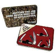 Old Timer Limited Edition 3-Piece Folding Knife Set