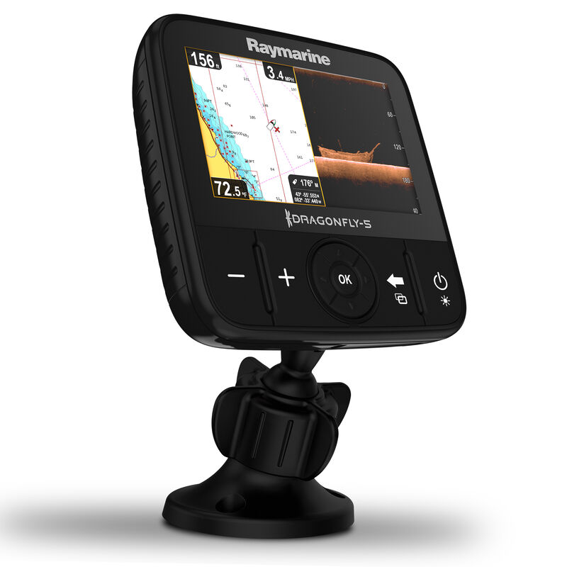 Raymarine Dragonfly 5 DVS With Dual-Channel CHIRP DownVision Sonar image number 9