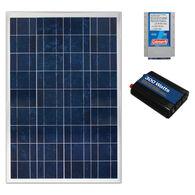 Coleman 100 Watt Crystalline Solar Panel with 8.5 Amp Charge Controller and 300 Watt Inverter