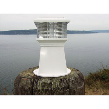 Dock Edge Solar Piling and Dock Light