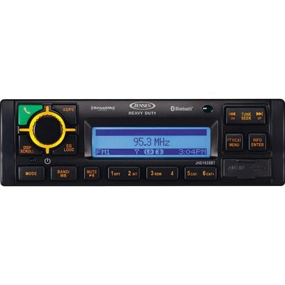 Jensen Heavy-Duty JHD1635BT Stereo with Bluetooth and Weatherband
