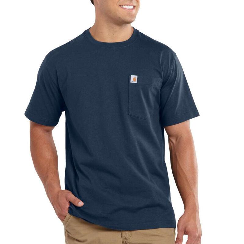 Carhartt Men's Maddock Pocket Short-Sleeved T-Shirt image number 4