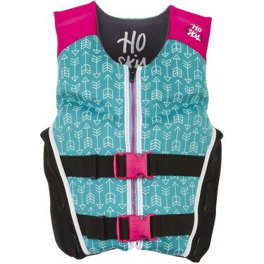 HO Youth Pursuit Neoprene Life Jacket, turquoise/pink
