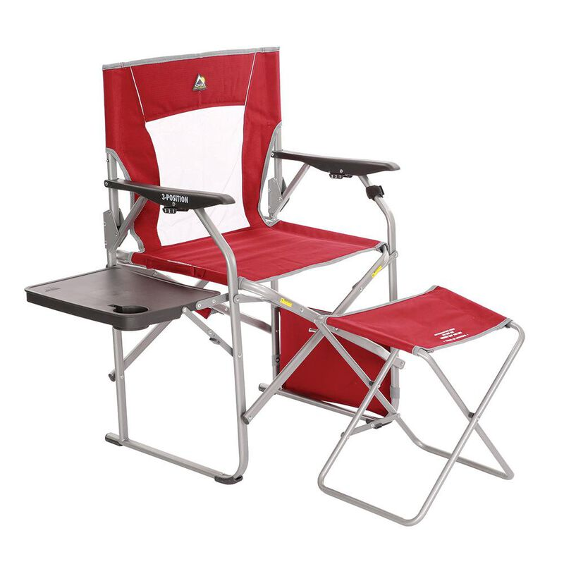 GCI Outdoor Folding Director's Chair With Ottoman image number 2