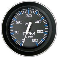 "Faria 4"" Coral Series Tachometer, 6,000 RPM Gas Inboard & Inboard/Outboard"