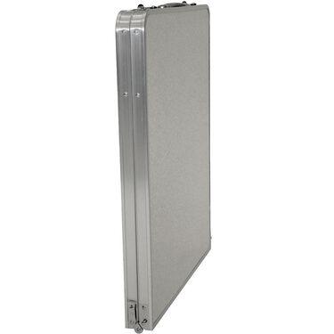 Fold 'N Half Aluminum Table, 5'