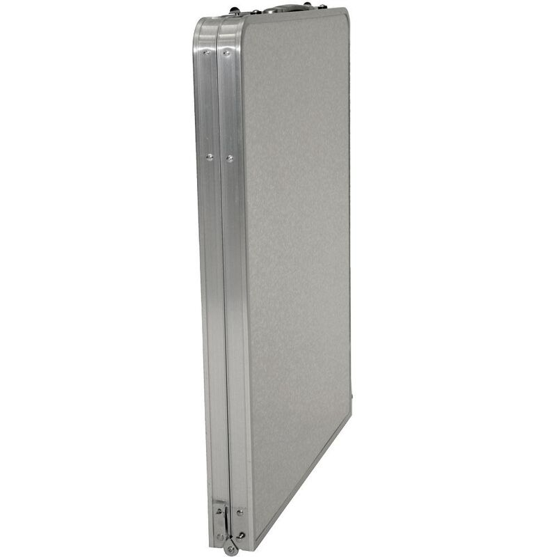 Fold 'N Half Aluminum Table, 5' image number 4